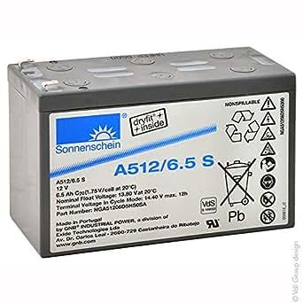 Sonnenschein - Batterie plomb etanche gel A512/6.5S 12V 6.5Ah