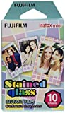 Fujifilm - Instax Mini Stained Glass Film, Film Instax Mini Monopack Stained Glass (10v)