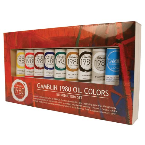 Gamblin Cadmium Red Light (Gamblin 1980 Oil Color Exclusive Set by Gamblin)