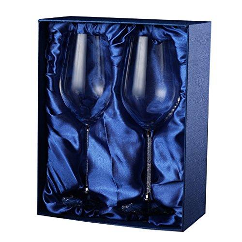 A-RQ Neue Bleifreie Kristall Rotweinglas Mode Brille