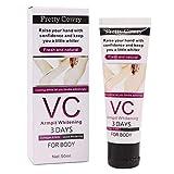 Aufhellung Creme, Skin Whitening Cream, VC Whitening Creme, Bleaching Cream für dunkle Haut, Hals,...