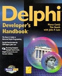 Delphi Developer's Handbook by Marco Cantu (1997-11-02)