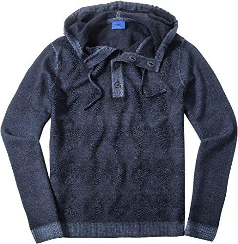 Preisvergleich Produktbild JOOP! Herren Pullover Sweater Gemustert,  Größe: S,  Farbe: Blau