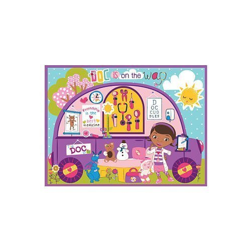 Disney Doc McStuffins Mobile Clinic Game Rug by GA Gertmenian