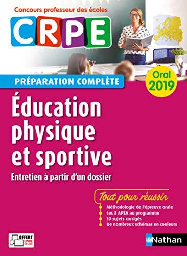 CRPE oral 2019. Education physique et sportive (entretien à partir d'un dossier) par Alain Saint-Jalmes
