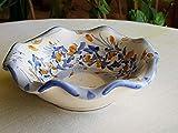 Ciotola in ceramica siciliana fatta a mano. Portagioie in ceramica artistica. Bomboniera in ceramica. Portasapone decorato a mano. Le ceramiche di Ketty Messina.