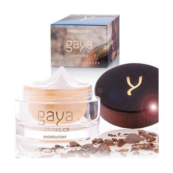 Crema Facial Día Hidratante Y Vegana – Crema Antiarrugas Reafirmante Ecologica Para la Cara, Hidrata Y Logra una Piel…