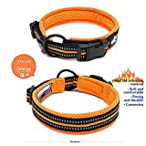 CHGU Pet dogs Collar Adjustable Collar to prevent losing collars