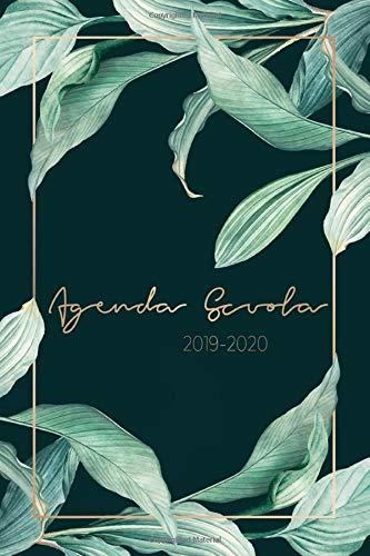 Agenda Scuola 2019 - 2020: Calendario Agosto 2019 - Agosto 2020 | Agenda dello studente - Giornaliera, Anno scolastico Agenda Settimanale | Materiale Scolastico Regali per Ragazzi
