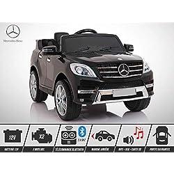 Voiture électrique enfant KINGTOYS - Mercedes ML 350 50W - Noir