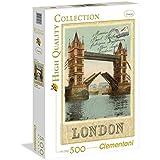 Clementoni - Puzzle de 500 piezas, High Quality, diseño London Postcard (305858)