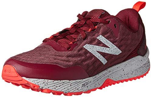 New Balance Trail Nitrel, Zapatillas de Running para Asfalto para Mujer, Rojo Red Red, 41 EU