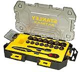 Stanley FatMax Mini-ToughBox (1/2 Zoll Steckschlüssel, 17-teiliges Set) FMHT0-74716