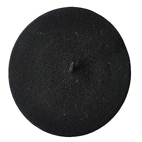 Beret Femme Noir - Bodhi2000 - Béret - Femme - noir