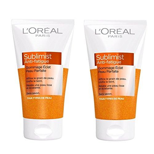loreal-paris-sublimist-anti-fatigue-gommage-eclat-pour-peau-parfaite-sans-savon-150-ml-lot-de-2
