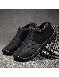 e9e2f39375bdc AIMENGA Calzado para Hombre Invierno Calzado De Algodón De Gran Tamaño Calzado  para Hombre Calzado Cálido