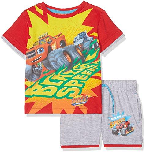 Disney blaze, completo sportivo bambino, grigio grey, 2-3 (dimensioni produttore:3 anni)