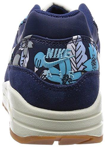 Nike Air Max 1 Print, Damen Sneakers, Blau - 2