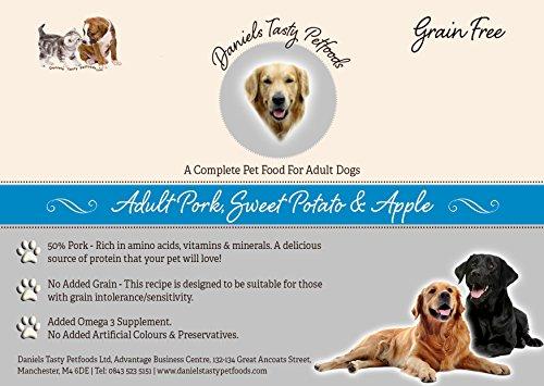 Welpenfutter Hundefutter–Schwein, Sweet Potato & Apple
