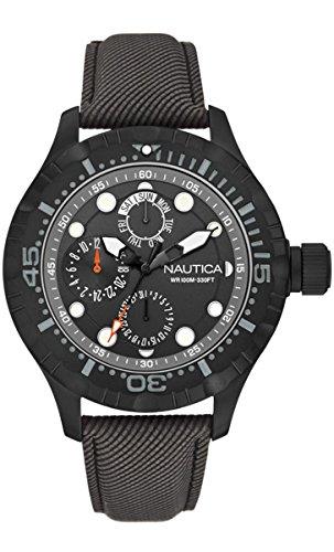 nautica-a16683g-montre-homme-quartz-analogique-bracelet-differents-materiaux-noir