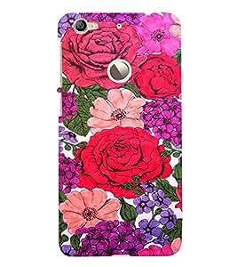 EPICCASE Roses Mobile Back Case Cover For LeEco Le 1s Eco (Designer Case)