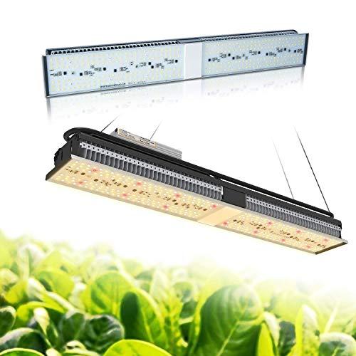 MARS HYDRO LED Grow Lampe SP 150 SP250 Vollspektrum Pflanzenlampe für Hydroponik Zimmerspflanzen wachsen Blumen und Gemüse (SP 150) - Licht 4 Wachsen Fuß