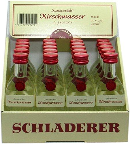 Schladerer Kirschwasser 20x0,03l Miniaturen