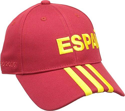 Adidas CF 3-Stripes Spain - Gorra, Color Dorado, Talla S