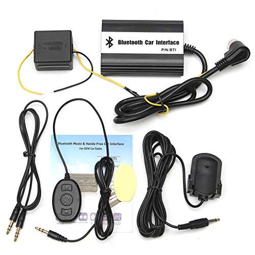 ELENXS Car Aux MP3 USB Chargeur Bluetooth A2DP Musique Remplacement Adaptateur pour Honda Accord Civic CRV