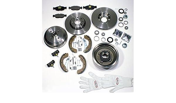 Autoparts-Online Set 60001107 Bremsen Bel/äge Hinten