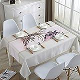 Tischdecke Hause Wasserdichte Tischdecke Korean Staub Tischdecke Staubschutz Handtuch Blume Und Vogel Malerei Orchidee 110 * 110