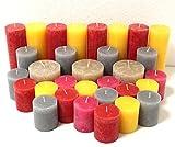 12 kg Kerzen Überraschungspaket , Rustic, Teelichter, Stumpenkerzen, Kerzen, Kerze, Rustik,Rustikkerzen, Stumpenkerze, Teelicht, 1. Wahl, Kerzenpaket, Kerzen Kilo,