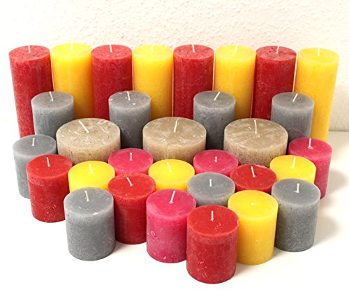 12-kg-31-rustic-pillar-candles-rustic-pillar-candle-tea-light-1-choice-kilo-pack-candles
