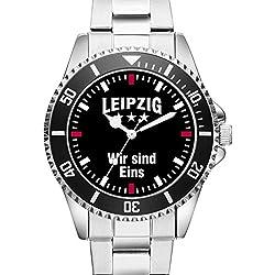 Leipzig - Wir sind Eins Fan Supporter Herren Armbanduhr 2388