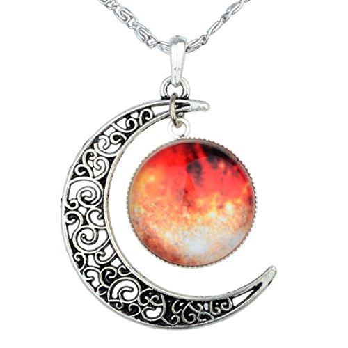 frauen-crescent-moon-galaktischen-universum-cabochon-anhaenger-halskette