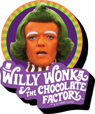 Magnet-Willy Wonka-oompla Loompa Funky Chunky New Lizenzprodukt 95498 -