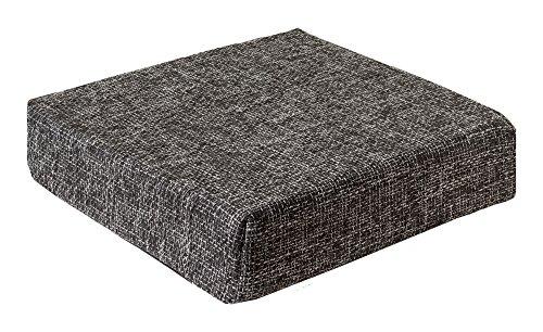 Kissen Sitzblock Bodenkissen Stuhlkissen Sitzerhöhung 40x40x10 cm TREND Anthrazit