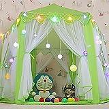 Interlink Kinderzelt Kinder Spielzelt Bällebad Spielhaus Für Kinder Mit Tasche Ohne Bälle (Grün)