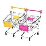 Kathope Pappagallo Uccello Mini supermercato Carrello Intelligente per Allenamento di Crescita Bambini Giocattolo