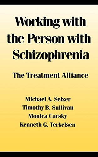 Working with the Person with Schizophrenia by Michael A. Selzer (1989-12-01)