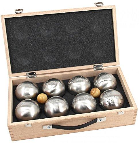 Obut K8, 8er SET, Boule - Koffer, Qualitätsprodukt aus Frankreich Freizeitkugeln