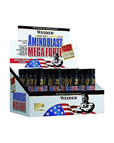 Weider Amino Blast Mega Forte Complemento Nutricional en Ampollas - 500 ml