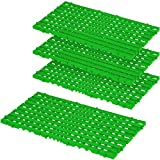 Bodenrost, grün, LxBxH 800 x 400 x 25 mm, 1,28 m², VE= 4 Stück