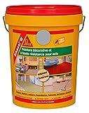 Sikasol W, Peinture acrylique décorative pour sol, 5L, Gris béton