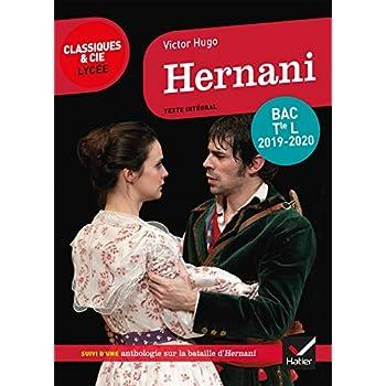 Hernani: programme de littérature Tle L bac 2019-2020