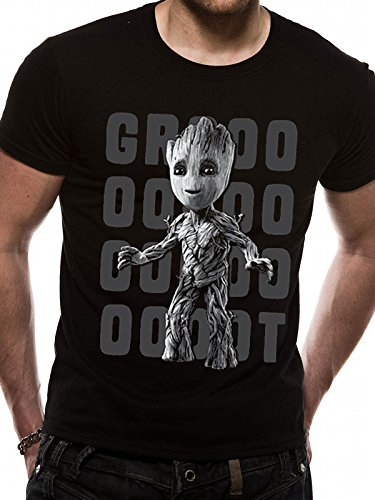 CID Herren T-Shirt Schwarz