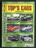 Telecharger Livres TOP S CARS MAGAZINE No 507 du 30 07 2010 LES ANNONCES DE PARTICULIERS (PDF,EPUB,MOBI) gratuits en Francaise