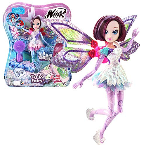 Winx Club - Tynix Fairy - Hada Tecna Muñeca 28cm con Magia...
