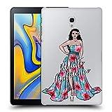 Head Case Designs Mädchen-Schönheit Der Insel Frauenverschiedenheiten Ruckseite Hülle für Samsung Galaxy Tab A 10.5 (2018)