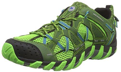Merrell - Waterpro Maipo, Scarpe Sportive - Vela Uomo, Color Verde (Bright Green), Talla 43.5